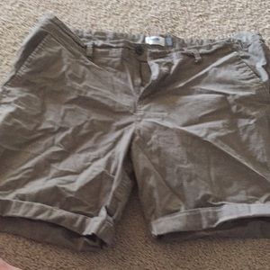 Brown size 16 khaki shorts